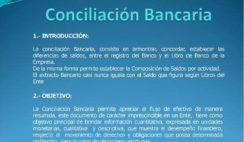 conciliaciones bancarias el salvador, niif para pymes conciliacion bancaria, flujos de efectivo, nic 7