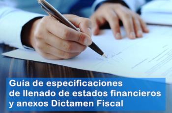 guia de llenado de estados financieros y dictamen fiscal en linea, descarga estados fincieros y dictamen fiscal el salvador