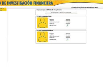 registro de oficial de cumplimiento uif, registro uif, registro de empresa en uif, uif fgr, requisitos para ser oficial de cumplimiento